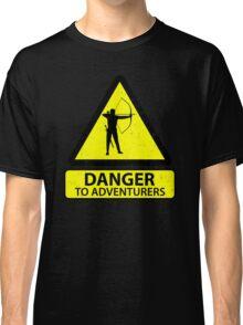 Danger to Adventurers Classic T-Shirt