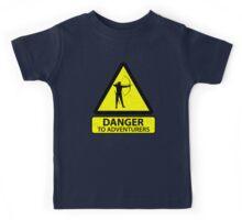 Danger to Adventurers Kids Tee