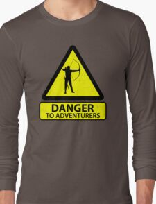 Danger to Adventurers Long Sleeve T-Shirt