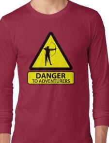 Danger to Adventurers Long Sleeve T-Shirt
