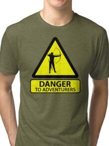 Danger to Adventurers Tri-blend T-Shirt