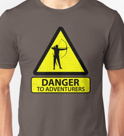 Danger to Adventurers Unisex T-Shirt