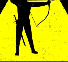Danger to Adventurers Sticker