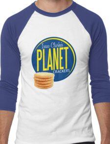 Isaac Clarke's Planet Crackers Men's Baseball ¾ T-Shirt