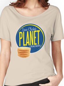 Isaac Clarke's Planet Crackers Women's Relaxed Fit T-Shirt