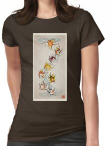 Fancy Magikarp Womens Fitted T-Shirt