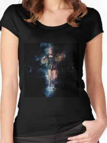 Columbia, RHPS Rocky Horror Picture Show Women's Fitted Scoop T-Shirt