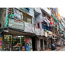Streets of kolkata Photographic Print