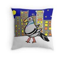 Jenny Quips:  Night Walker Throw Pillow