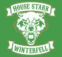 House Stark - Winterfell Kids Clothes