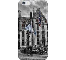 Bruges Central Square  iPhone Case/Skin