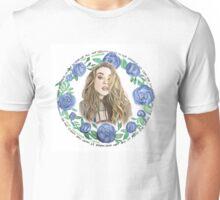 Sabrina Carpenter x Watercolor Flowers Unisex T-Shirt