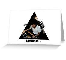 OG CHINK GAMER FOR LYFE Greeting Card