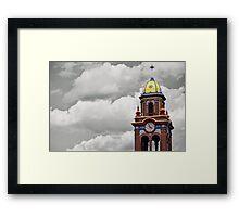 Plaza Tower Framed Print