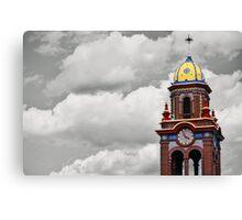 Plaza Tower Canvas Print