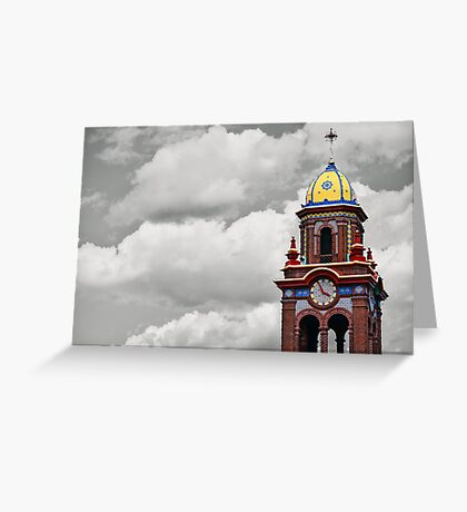 Plaza Tower Greeting Card