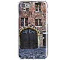 Bruges Vintage Cinema  iPhone Case/Skin