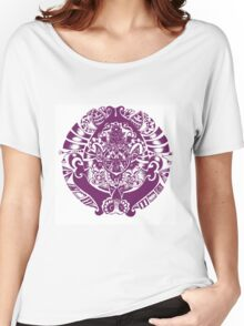 Purple Pendant  Women's Relaxed Fit T-Shirt