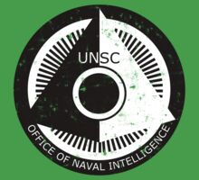 Halo Office of Naval Intelligence U.N.S.C. Logo Kids Clothes