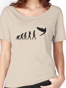 Homo Sapien Superior Worn Women's Relaxed Fit T-Shirt