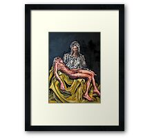 The Pieta #3 Framed Print