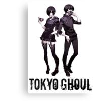 Anime: TOKYO GHOUL - Kaneki & Touka Canvas Print