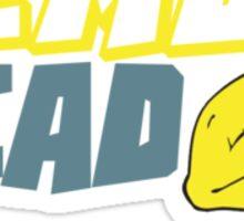 Lemon Head Super Hero Sticker
