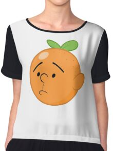 Karl Pilkington Chiffon Top