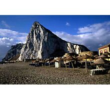 Gibraltar from La Linea Photographic Print