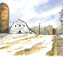Winter Farm by Anthony Billings