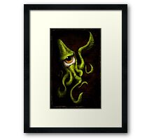 eye touch you Framed Print