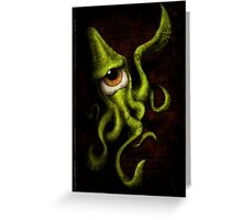 eye touch you Greeting Card