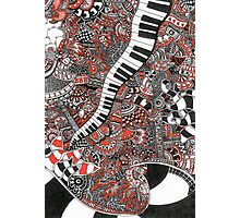 The piano has been drinking - 1 Photographic Print
