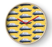CITROEN DS vintage Primerose Yellow Clock
