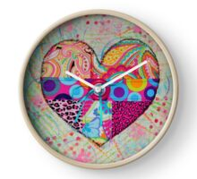 Pieces of my Heart Clock