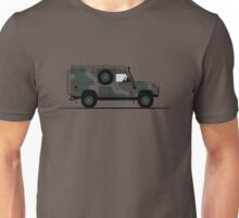 A Graphical Interpretation of the Defender 110 XD Wolf Hard Top Unisex T-Shirt