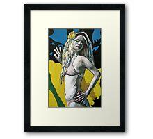 A Mermaid #2 Framed Print