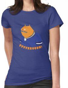 Glottis - Vvvvrrooom! Womens Fitted T-Shirt