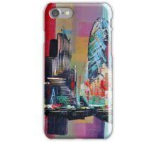 London City Skyline 0659 iPhone Case/Skin