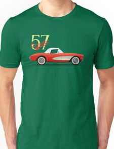 The 1957 Corvette Unisex T-Shirt