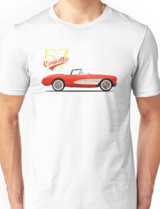The 1957 Corvette Unisex T-Shirt
