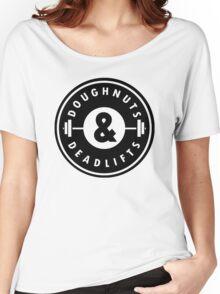 Doughnuts Deadlifts  Women's Relaxed Fit T-Shirt