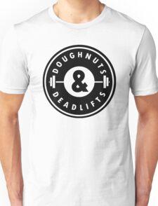 Doughnuts Deadlifts  Unisex T-Shirt