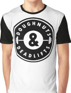 Doughnuts Deadlifts  Graphic T-Shirt