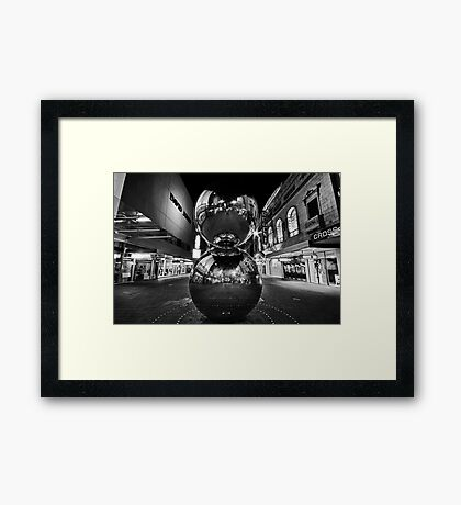 Rundle Mall #1 Framed Print