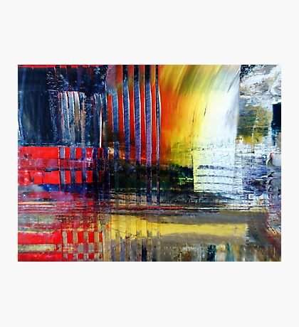 abstract conceptual painting Photographic Print