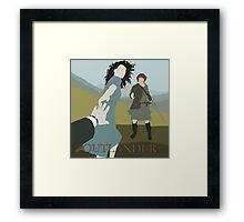 Outlander - The Series Framed Print