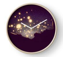 Sky Lanterns Clock