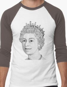 Queen Elizabeth II Men's Baseball ¾ T-Shirt