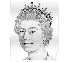 Queen Elizabeth II Poster